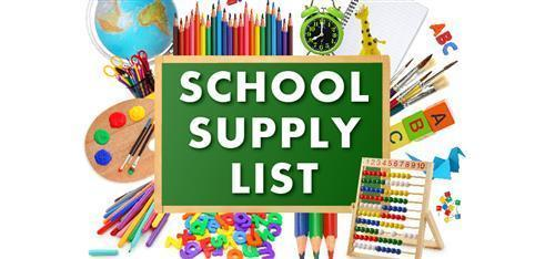 K-2 Supply List