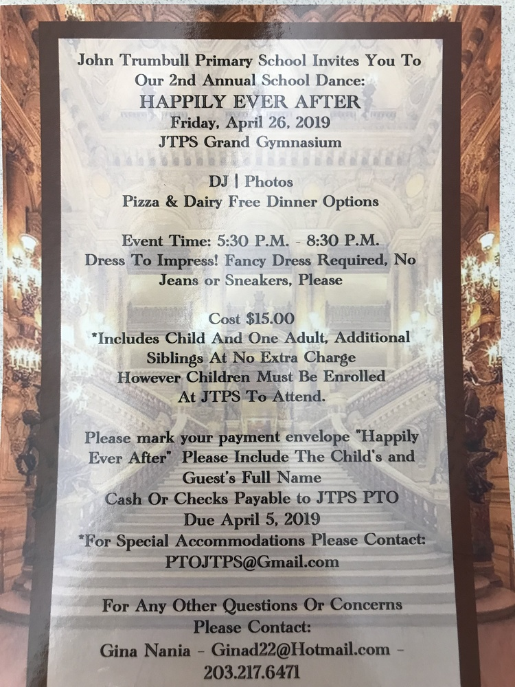 """Happily Ever After"" 2nd Annual School Dance"