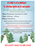Polk Reverse Parade Rescheduled for 12/23
