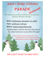 Judson Holiday Celebration Parade
