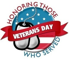 Veterans Day Assembly 11/15