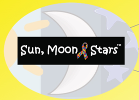 Sun, Moon, and Stars - Autism Awareness