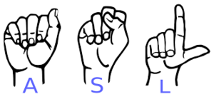 Sign Language Club meeting Monday December, 2