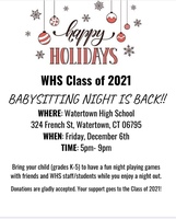 WHS Class of 2021 Babysitting Night