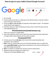 School Google Account login