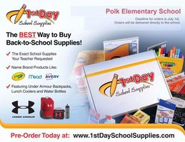 2020-21 School Supply Order Form