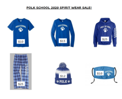 Polk Spirit Wear