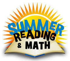 Summer Reading and Math Info.