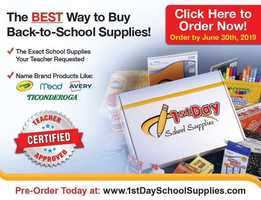 School Supplies - online ordering!