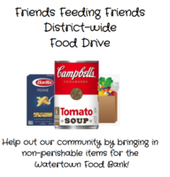 District Wide Food Drive