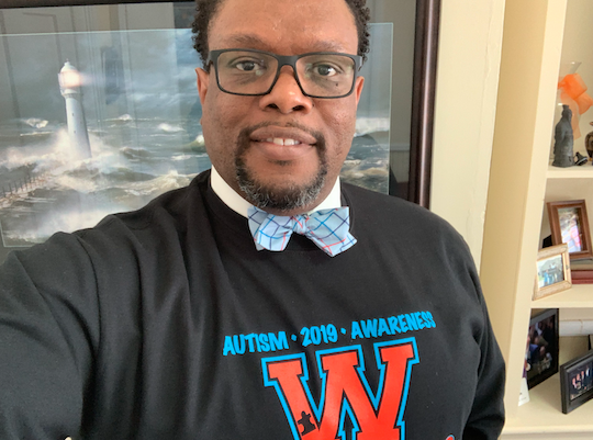 Dr. Harrison Autism Awareness