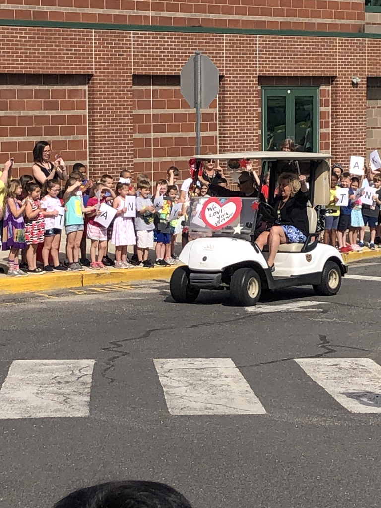 Bernie parade today at JTPS!