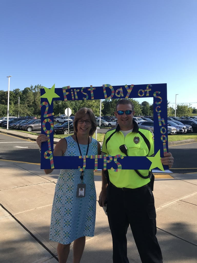 Mrs White and Officer Skowronski!!!!
