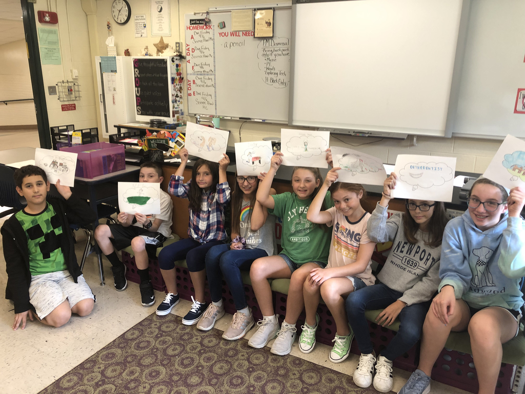 While reading Jeter's #The Contract, Mrs. Sweetland's Class created their own future dreams.