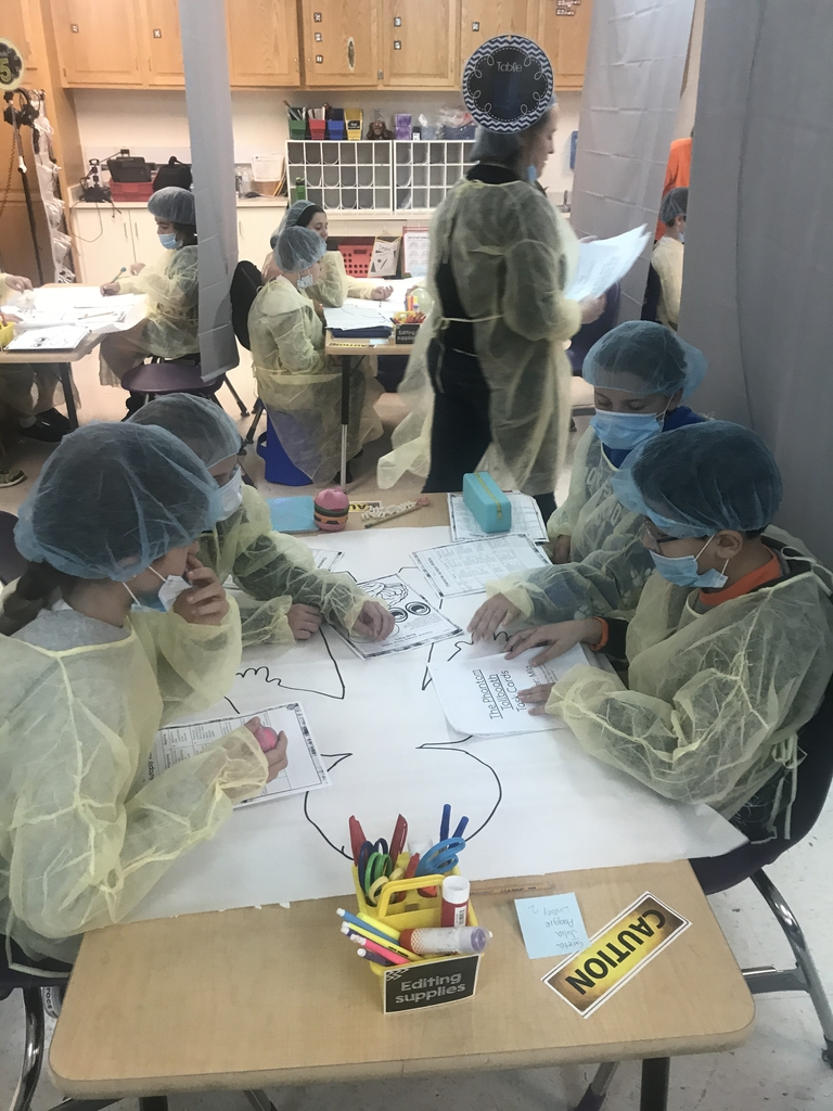 Kids working in a group