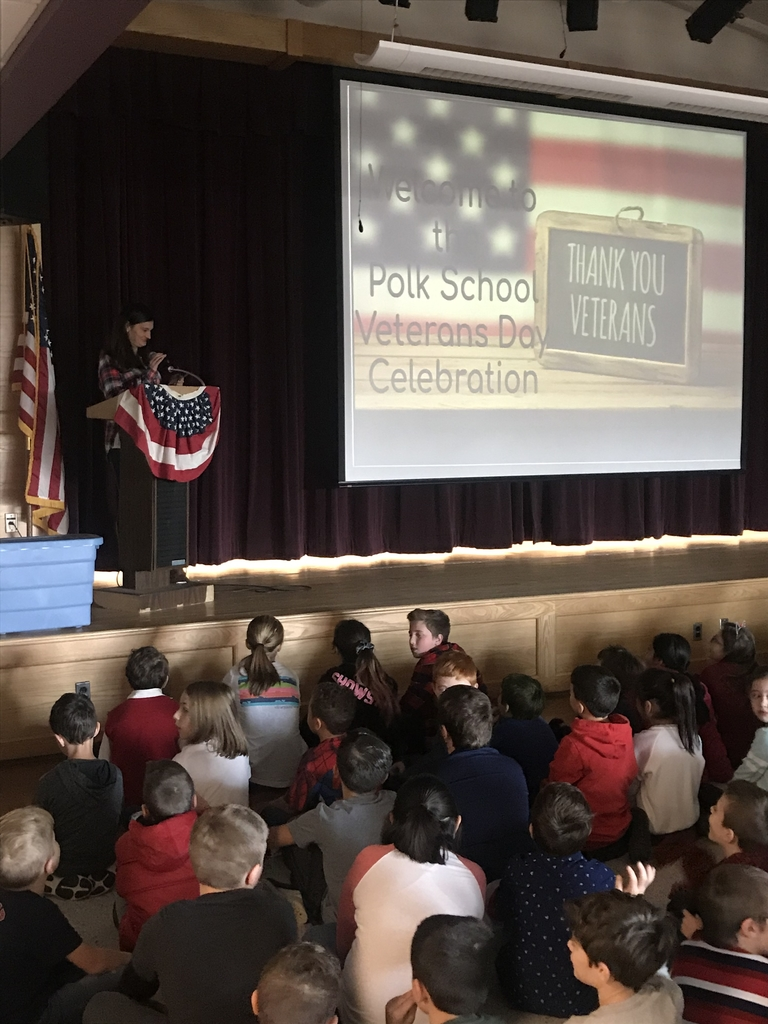 Veterans Day assembly