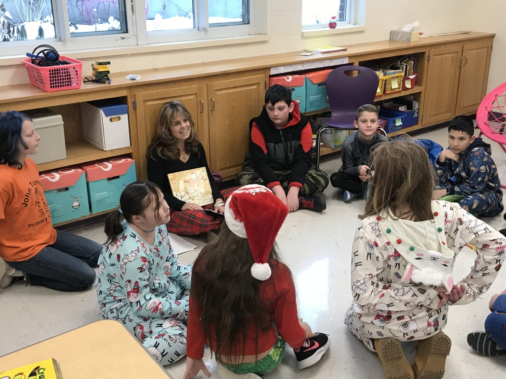 Teacher reading a story