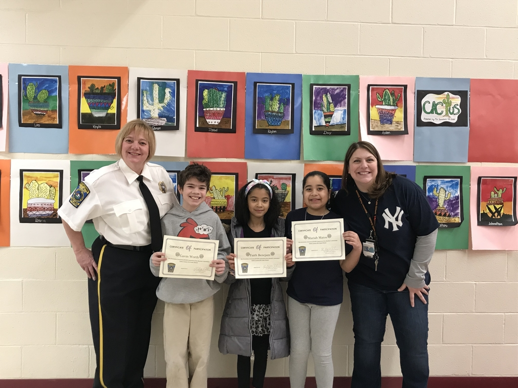 Fire prevention winners