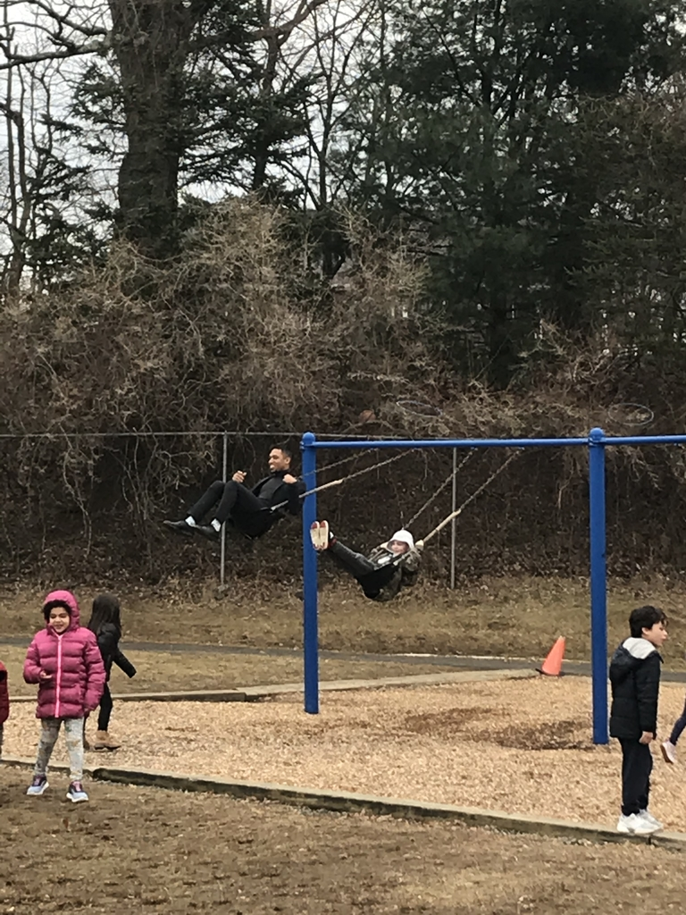 Yes that's our new AP on the swing!!!!